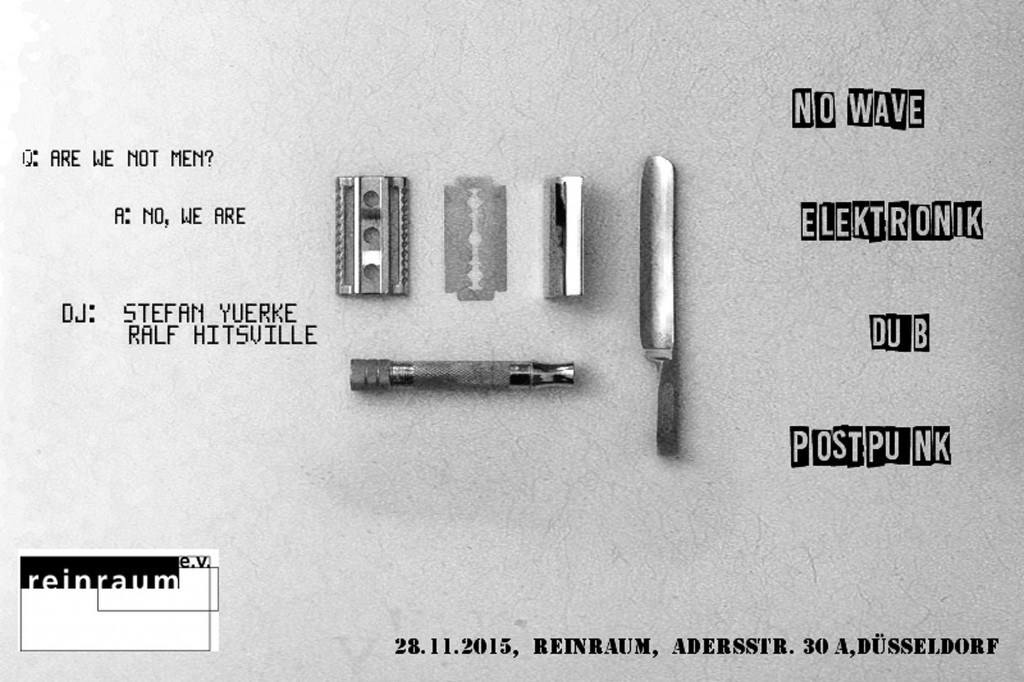 Post-Punk-Party 28.11.2015